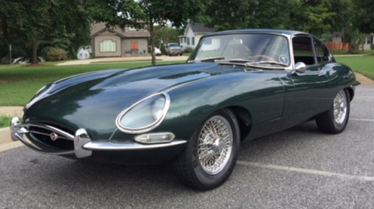 1965 Jaguar E-Type. Photo - Worldwide