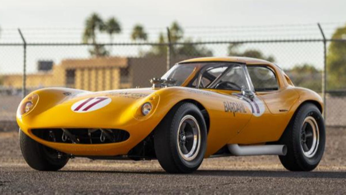 Russo and Steele will offer this unique specimen — a 1964 Cheetah race car formerly driven at Daytona. Photo - Russo & Steele