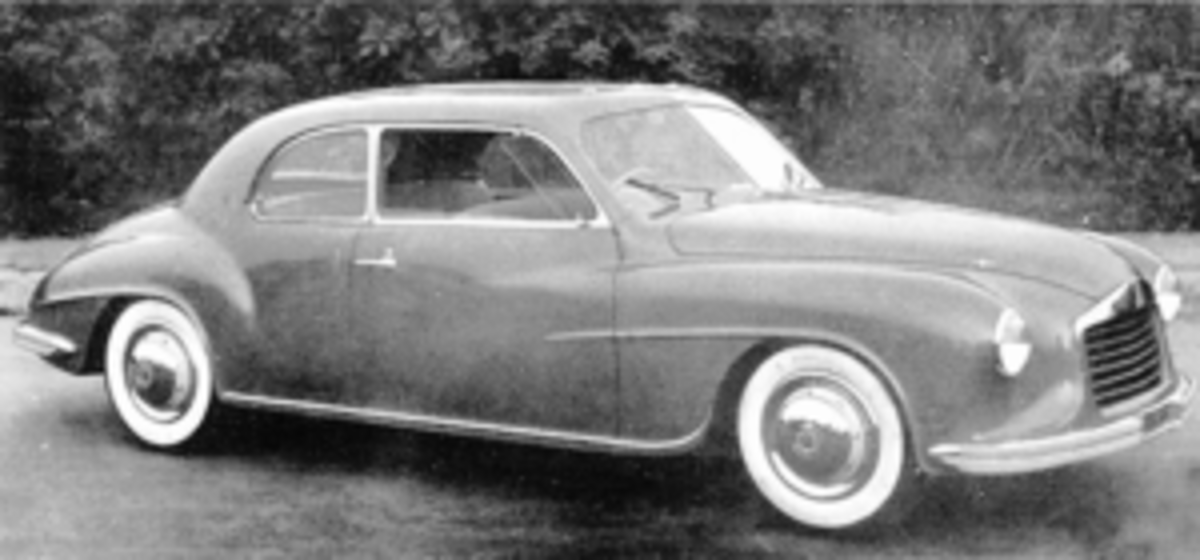 The 1947 Isotta Fraschini 8C Monterosa Touring Coupe