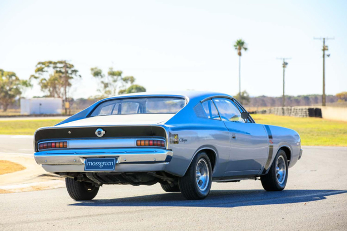 1972 CHRYSLER VALIANT VH CHARGER R/T E38 COUPE REAR