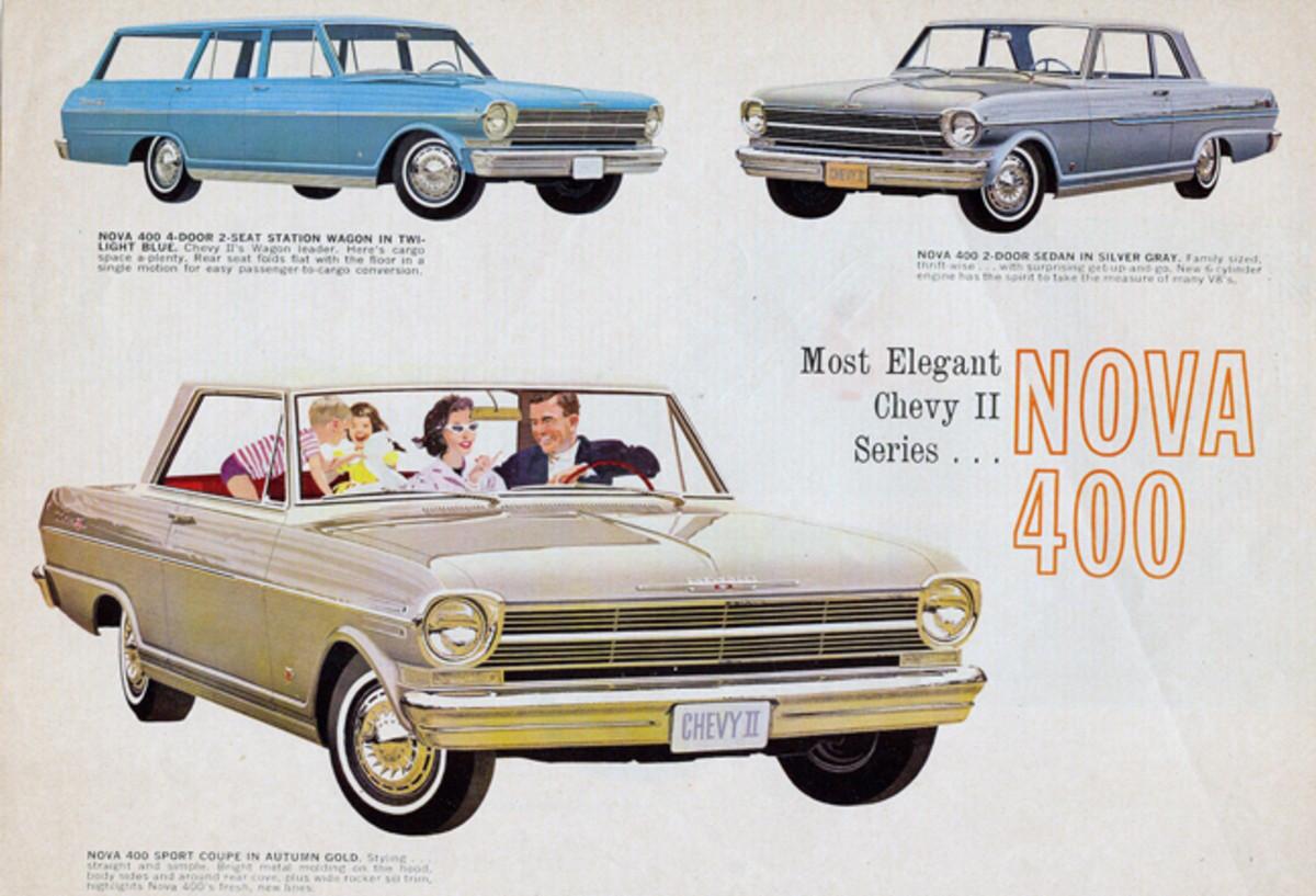 50 Years 1962 Chevy II
