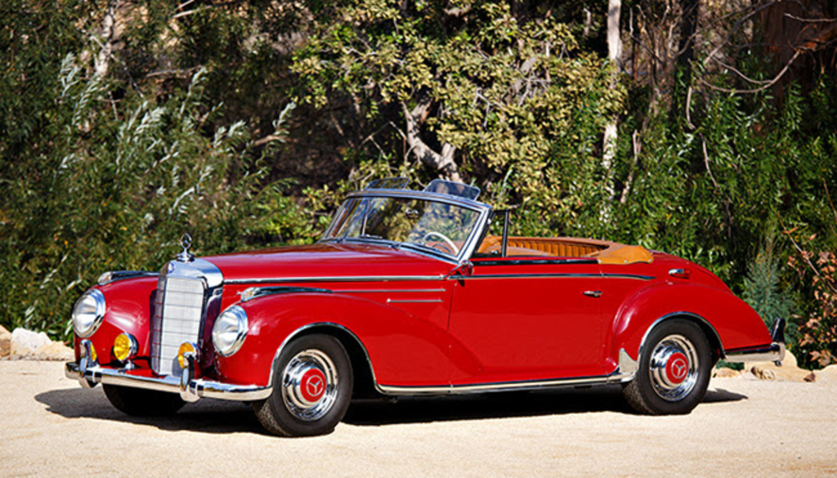1956 MB 300 Sc roadster. Photo - Gooding & Co.