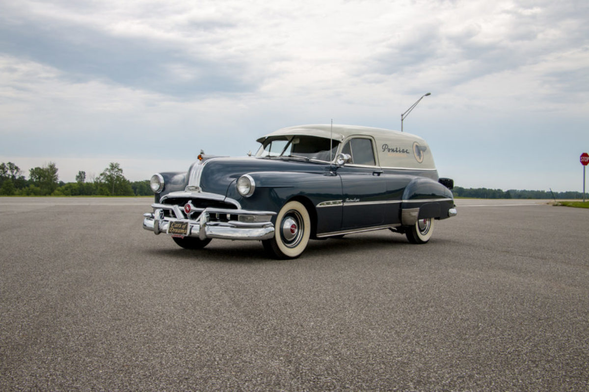1951 Pontiac Eight sedan delivery. Courtesy of Auctions America