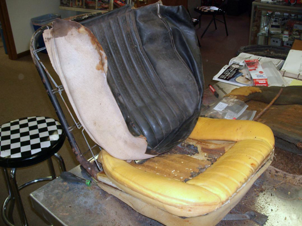 "Seats feature ""old school"" British coachbuilder construction."