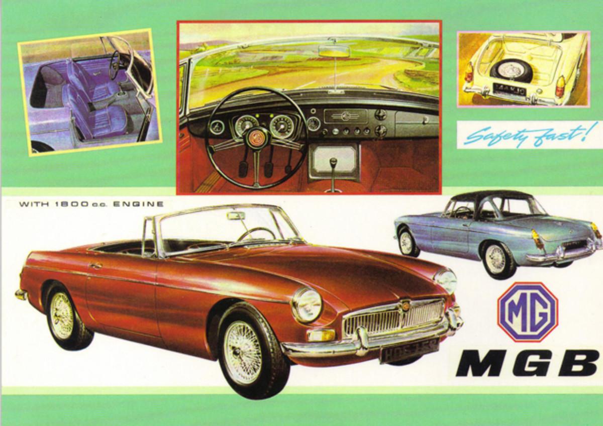 50 Years 1962 MGB Roadster