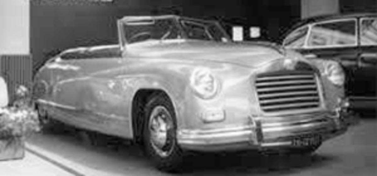 The 1948 Isotta Fraschini 8C Monterosa Boneschi Cabriolet