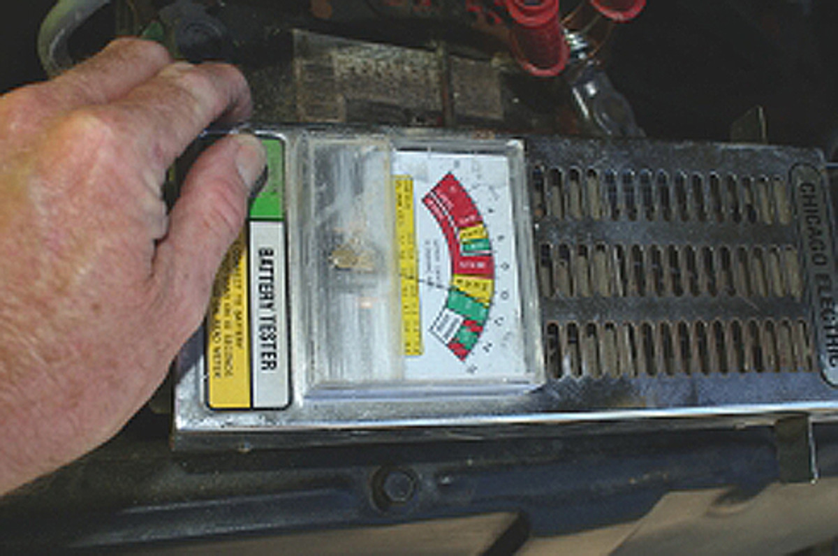 Battery/charging system load testers are inexpensive and can usually be obtained for less than $50.