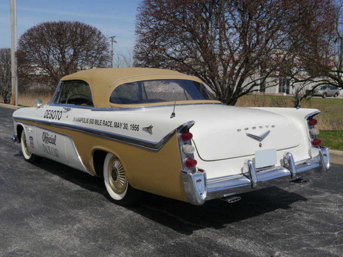 1956 DeSoto Fireflite pace car. Courtesy of Auctions America