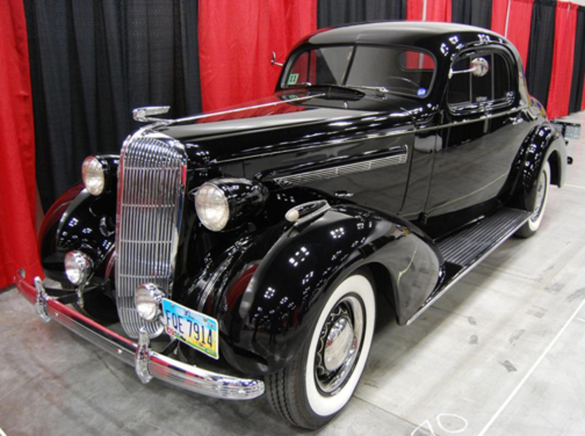 Barry and Jewel Jacobs' 1936 Buick Sport Coupe was seen in the 2013 Great Race from St. Paul, Minn., to Mobile, Ala.