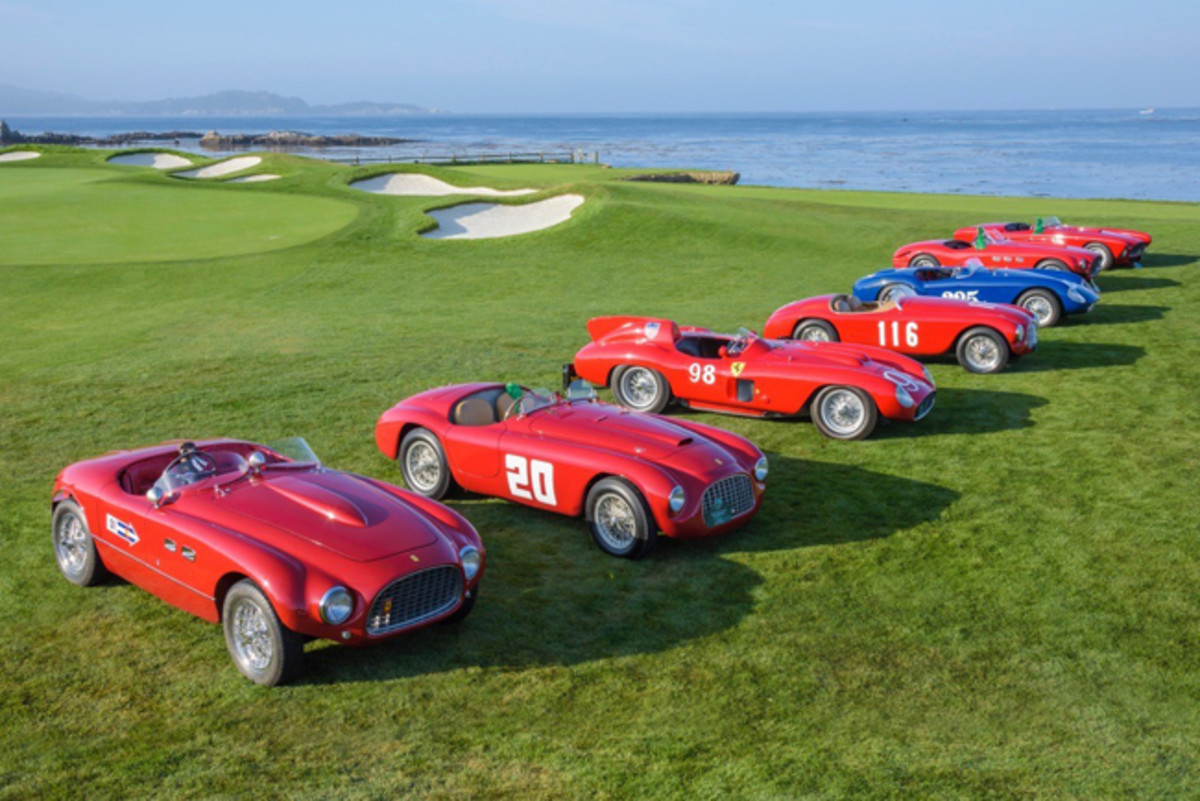 (credit: Kimball Stock/Pebble Beach Concours) (PRNewsfoto/Pebble Beach Concours d'Elegance)