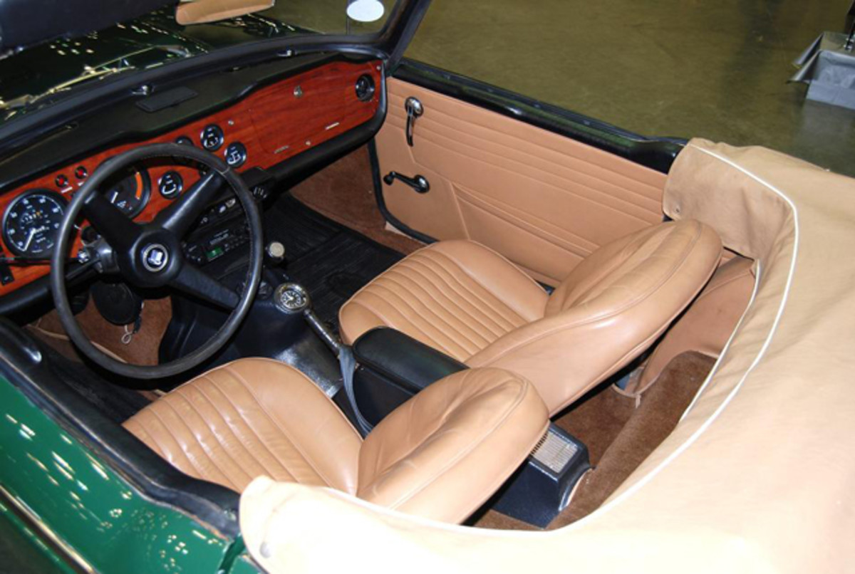 Kings Classics LLC of Indiana did this car which has a gorgeous interior.