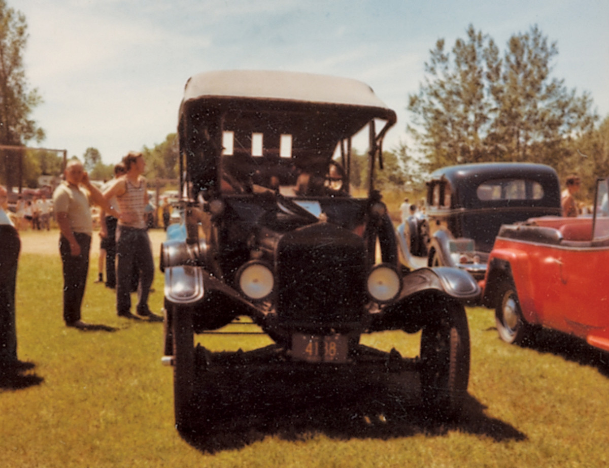 Iola Old Car Show founder Chet Krause is a Model T man, and his favorites have been a mainstay of the show since its early years.