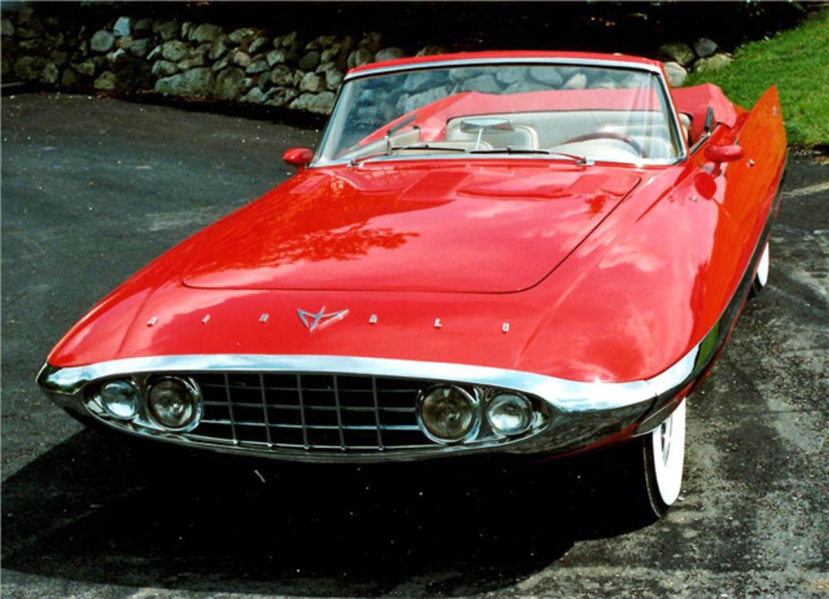 (Lot #5034) A 1956 Chrysler Diablo Concept Convertible sold for a record $1.375 million. (Barrett-Jackson photo)