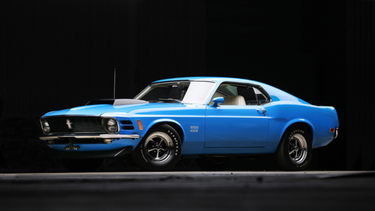 1970 Ford Mustang Boss 429. Photo - Worldwide Auctioneers