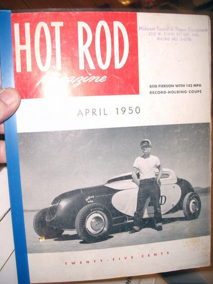 The Hot Rod magazines date back to the early 1950s.