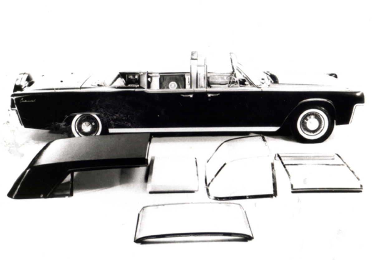 By 1963, the SS-100-X was fitted with a variety of roof options.