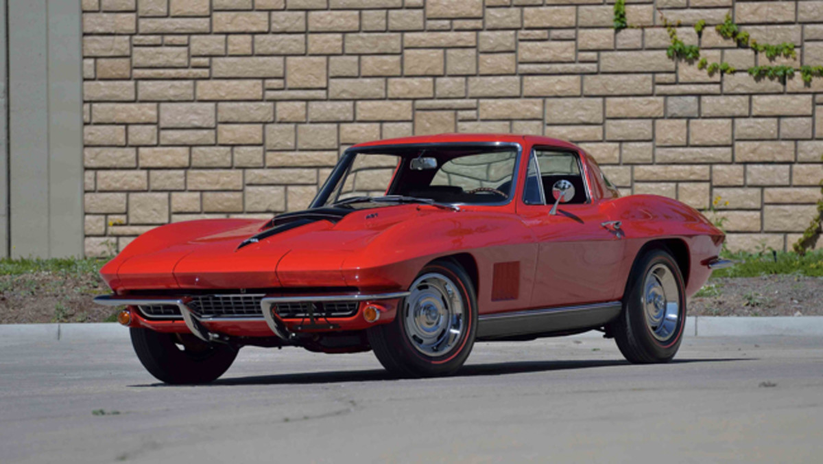 1967 Chevrolet Corvette Coupe. Photo - Mecum