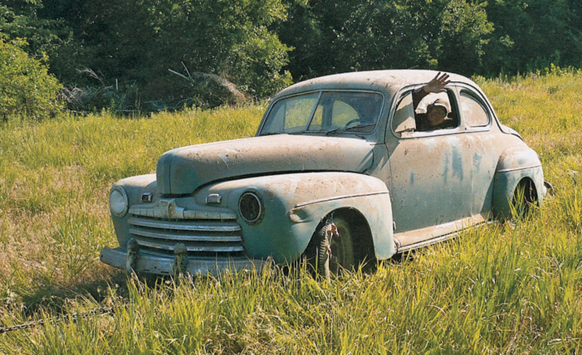 After five hours of work, Cleer was finally able to retrieve the Ford from hiding. It was in remarkably good condition and exactly how his uncle had built it.