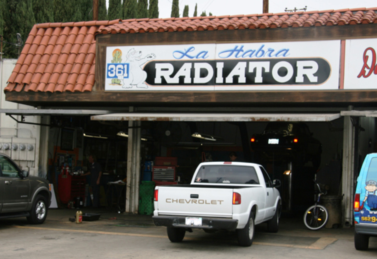 A local radiator shop can give advice on cooling system needs.