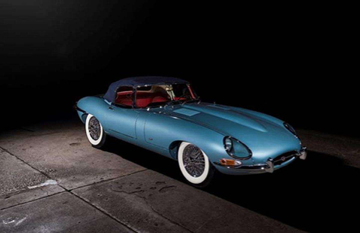 1961 Jaguar E-Type Series 1 3.8-Litre Roadster (Credit – © 2020 Courtesy of RM Auctions)
