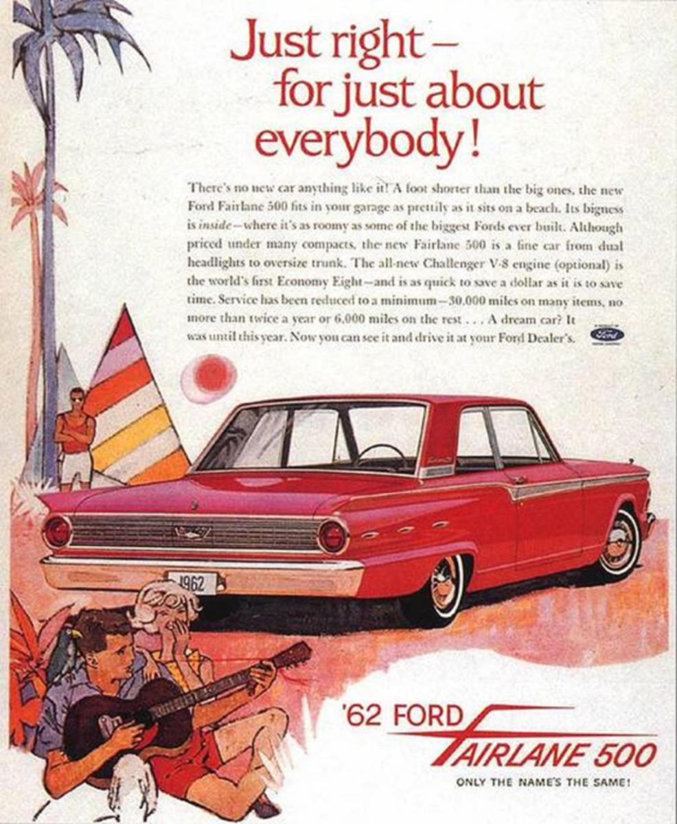 50 Years 1962 Fairlane