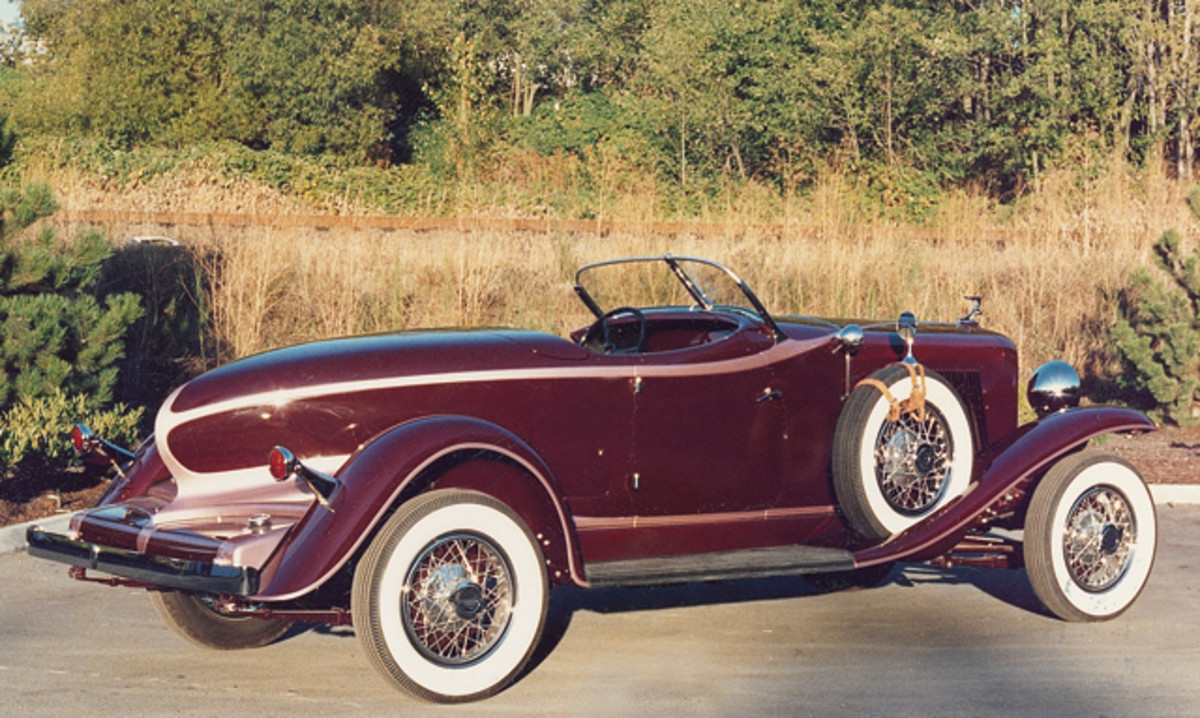 "Prices for ""Blue Chip"" cars such as Auburn Speedsters remain strong."