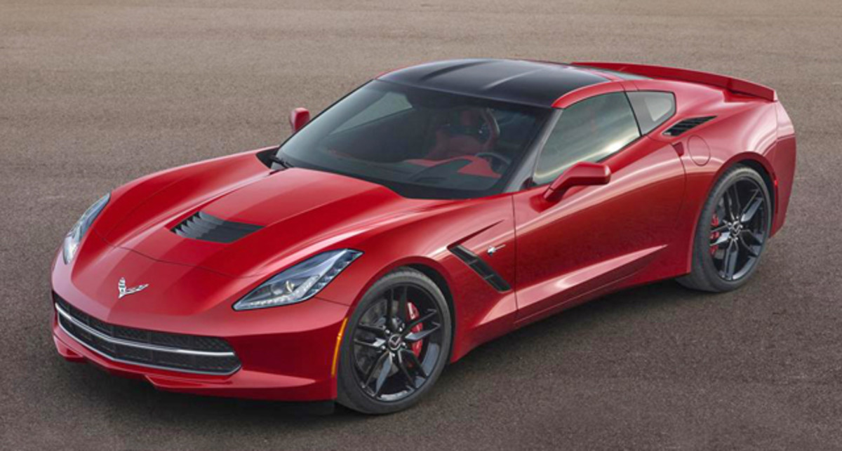 (Lot #3016) The first production Chevrolet Corvette Stingray sold for $1,000,000 to benefit Detroit-based College for Creative Studies. (Barrett-Jackson photo)