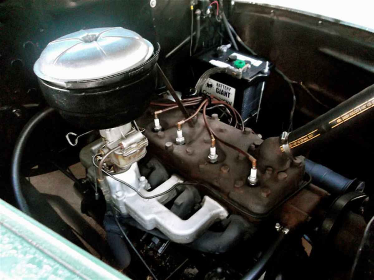 1948-Ford-pickup-engine