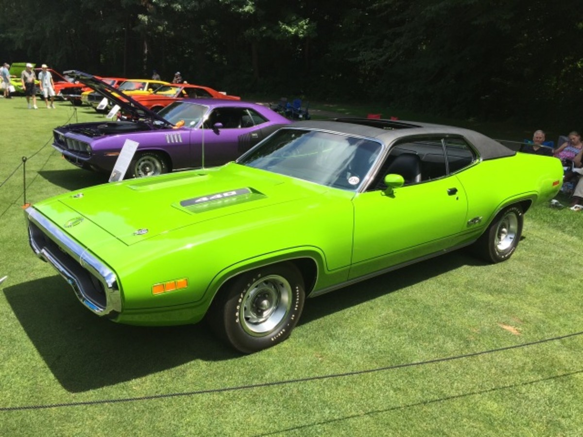 This 1971 Plymouth GTX with a super rare sunroof was discovered in a Des Moines salvage yard during 1993 by owners Jeff and Vickie Saewert, who undertook its restoration.