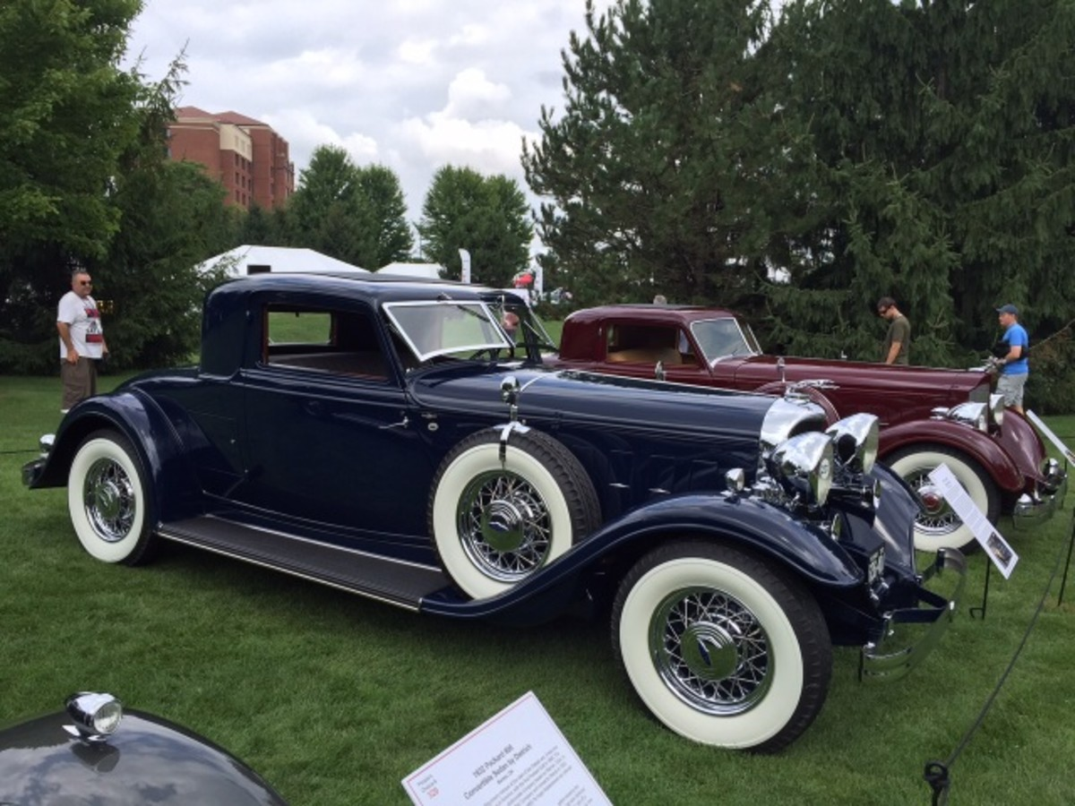 William Parfet's Dietrich-bodied 1932 Lincoln KB coupe. In my opinion, the most elegant body on the most elegant Lincoln model of the Classic era.