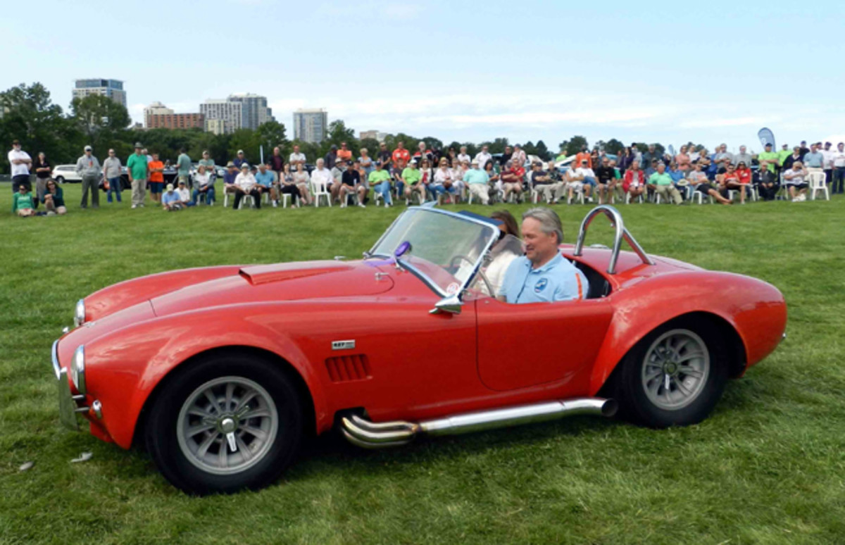 """2017 Milwaukee Concours d'Elegance """"Chasing Classic Cars"""" Award – 1966 Shelby Cobra"""