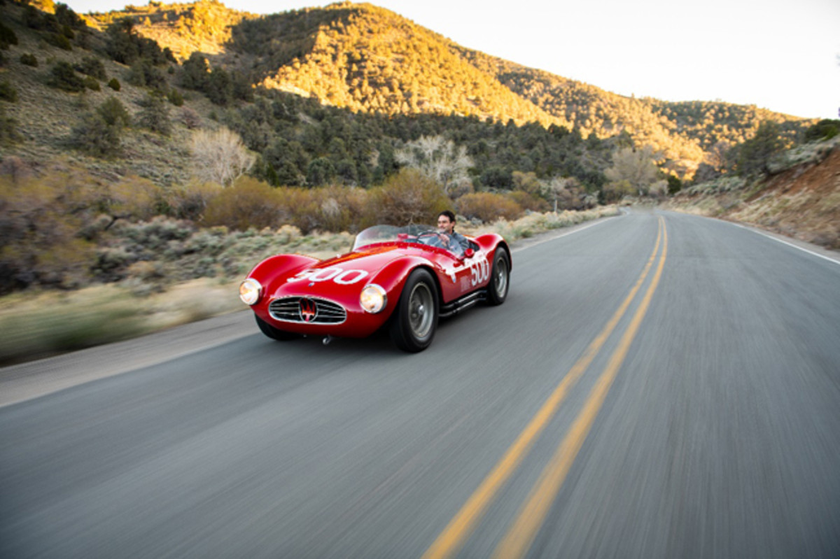 1954 Maserati A6GCS (Credit - Darin Schnabel © 2019 Courtesy of RM Sotheby's)