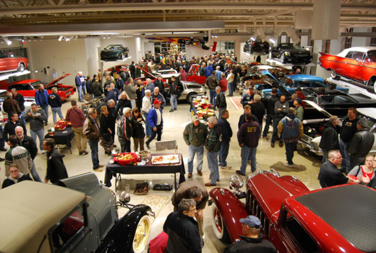 When Tommy planned a Garage Session at The Automobile Gallery by Red Lewis, almost every car enthusiast in northeast Wisconsin came.