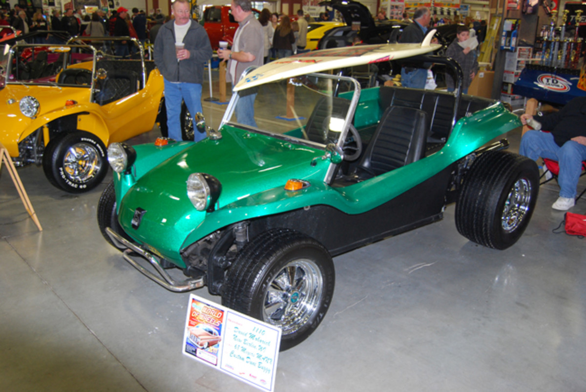 David Maharich of New Berlin, Wis., owns this 1968 Meyers Manx.