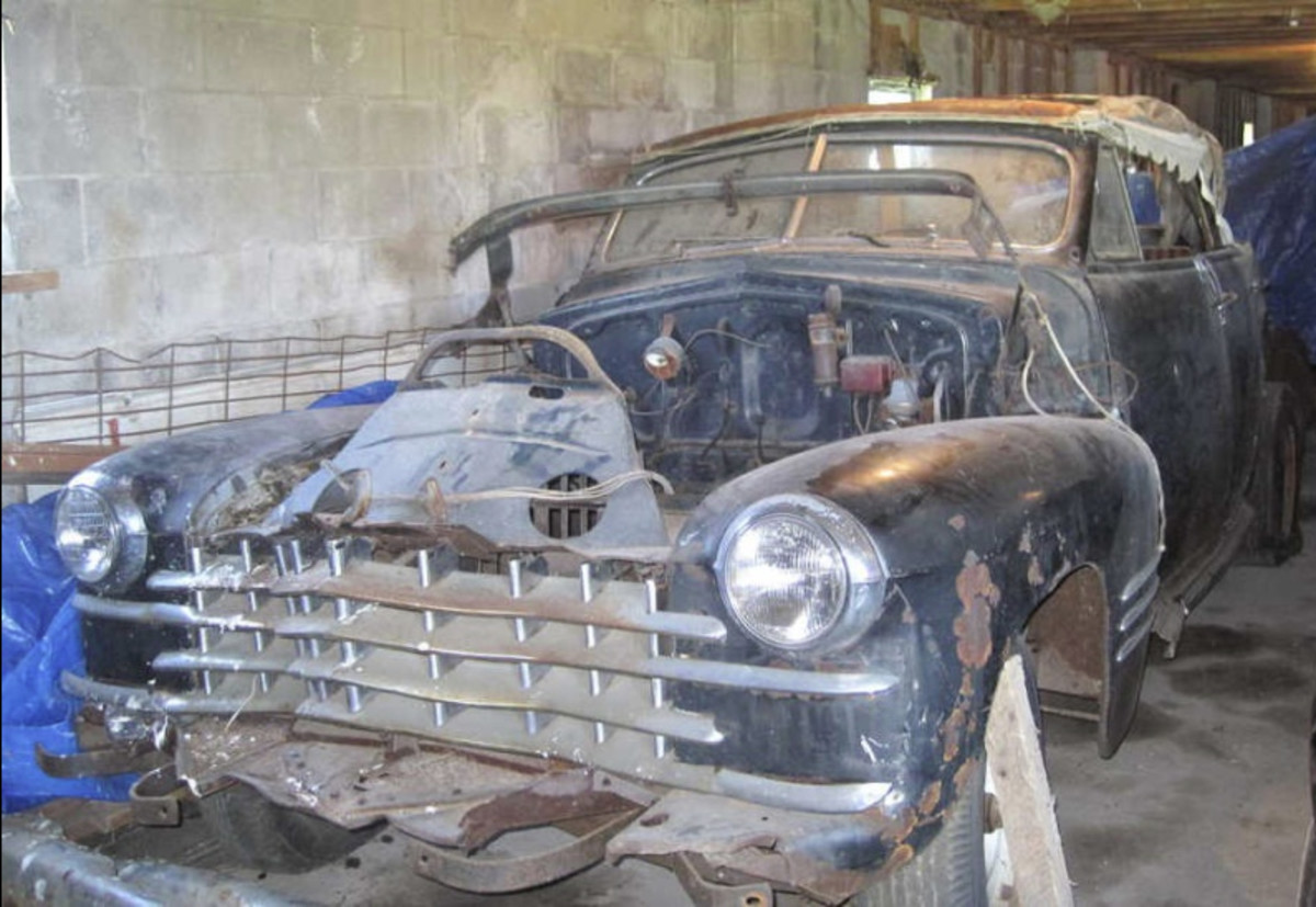"""Many people consider the 1941 Cadillac to be the ultimate example of the """"standard of the world,"""" and the convertible sedan example is perhaps the most desirable body style of that year. Given its status, nearly any 1941 Cadillac convertible sedan is worthy of restoration, and this one could be a decent start."""
