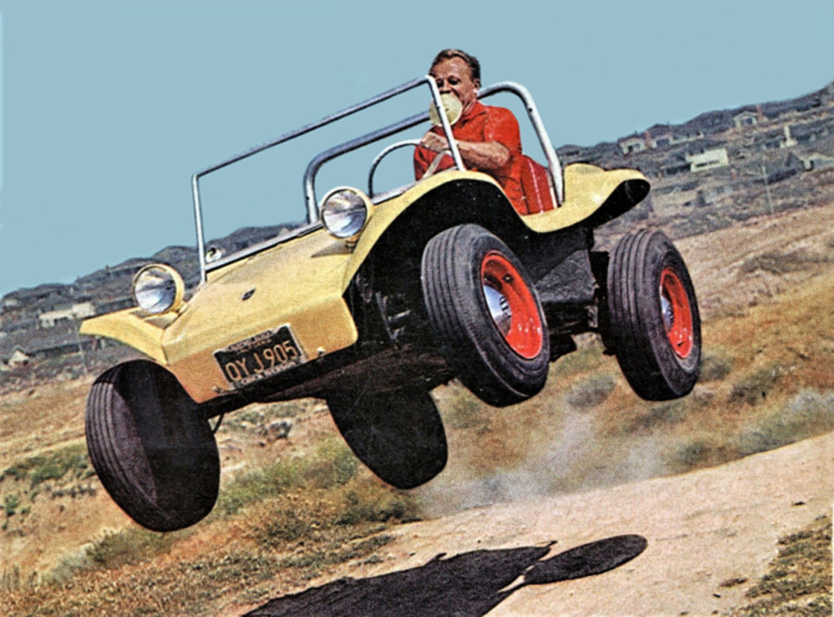 A younger Bruce in an early Manx. (Photo courtesy Meyers Manx)