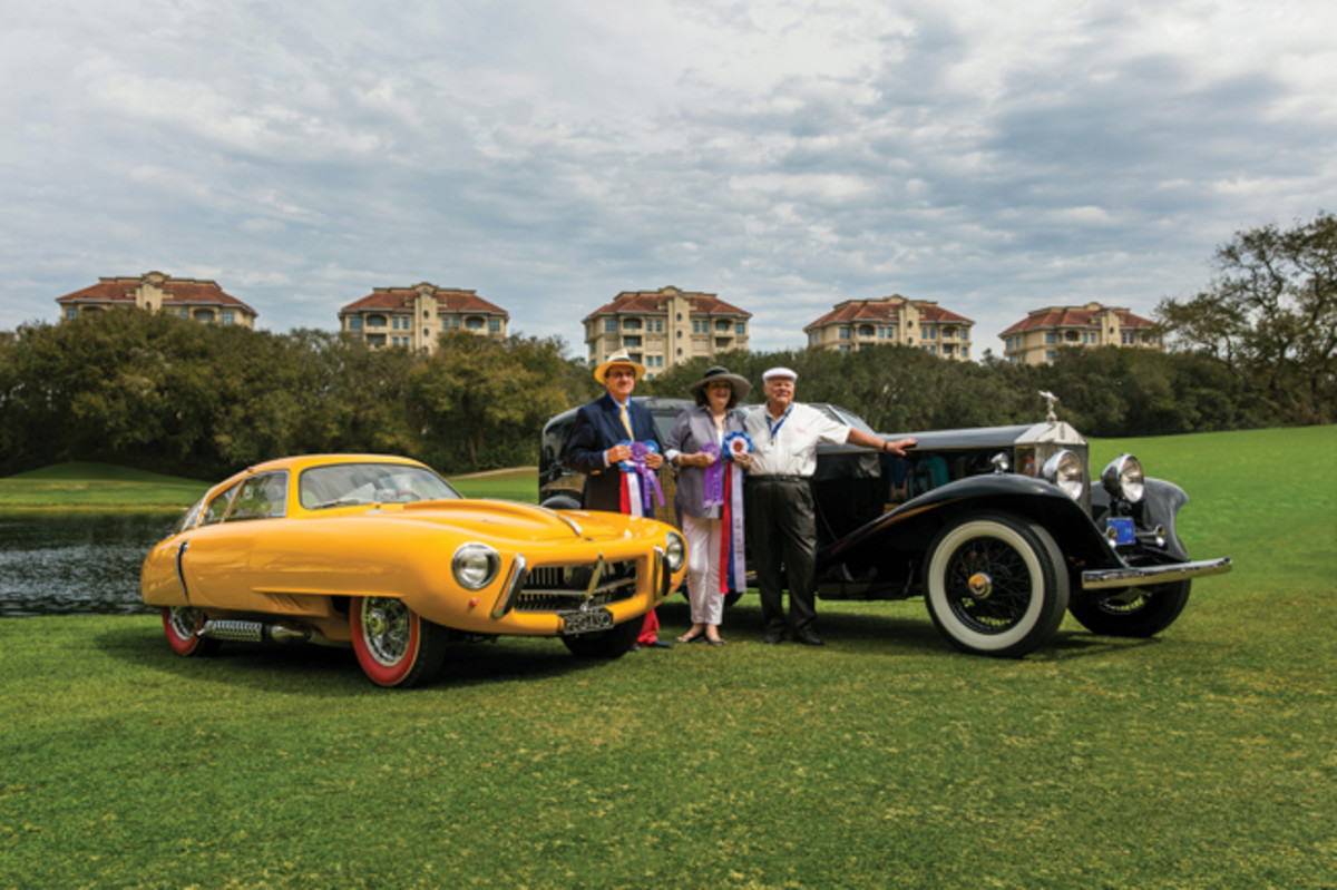 A 1952 Pegaso Z-102 and 1930 Rolls-Royce Phantom II were the Best of Show winners at last year's 2016 Amelia Island Concours. Nathan Deremer photo/Amelia Island Concours 'Elegance