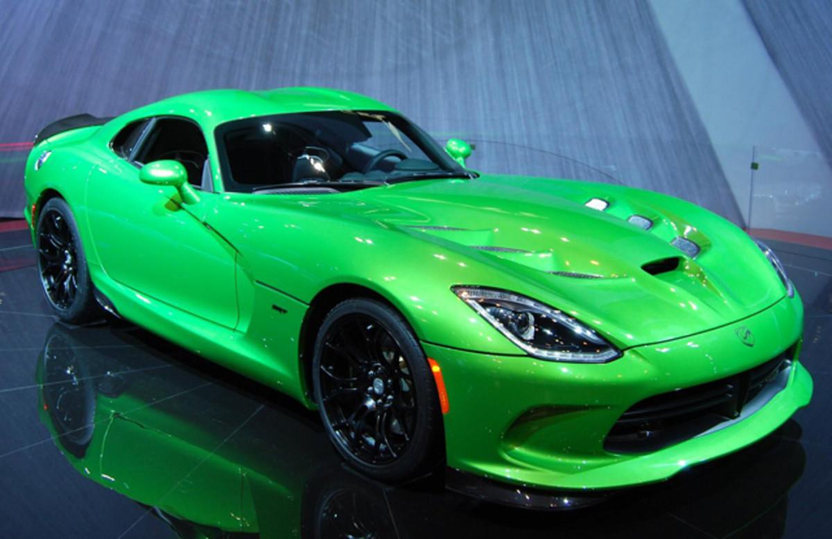 This SRT Viper also revived a tradition of wild colors.