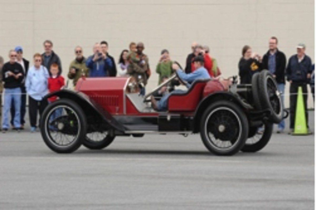 The Simeone Foundation Museum's 1916 Stutz Bearcat will be demonstrated Feb. 25 as part of the museum's Demonstration Days.