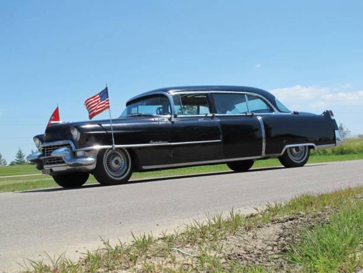 1955 Cadillac presidential limo