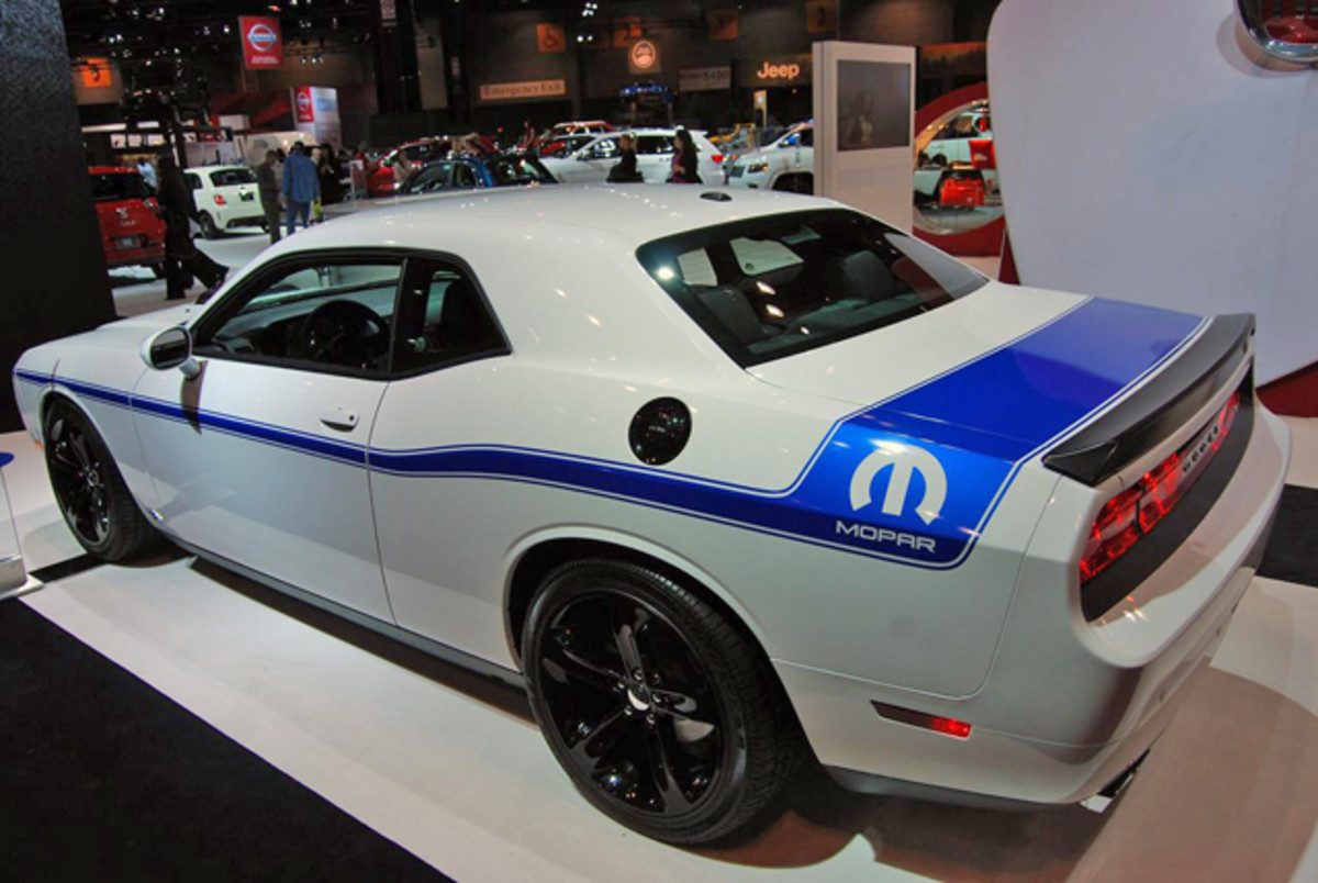 Mopar 14 Challenger is a very limited edition hi-po model.