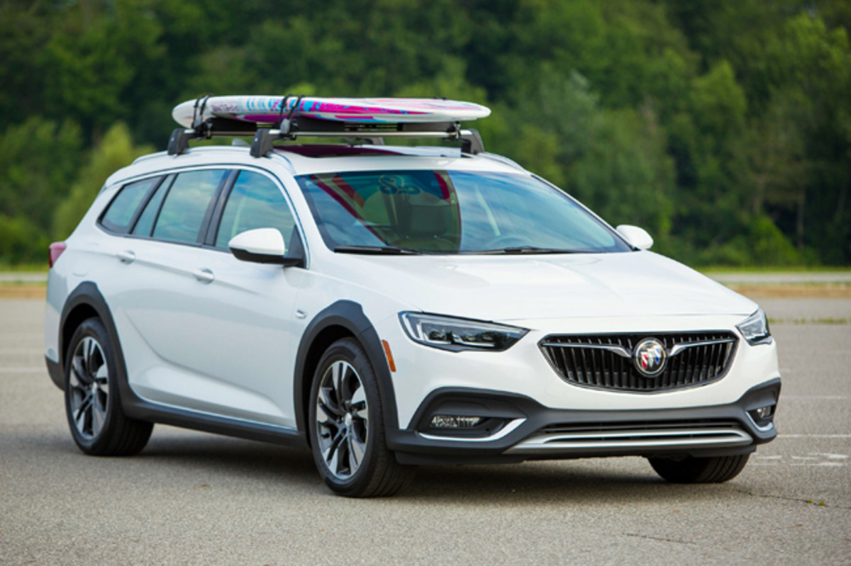 The 2018 Buick Regal Tour X (Photo by Jeffrey Sauger for Buick)