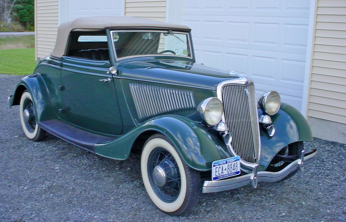 """This fine, unrestored 1934 Cabriolet has essentially had only three owners in its lifetime. It was featured in the Feb. 9, 2009, issue of Old Cars Weekly and is also featured in the OCW book """"Only Originals."""""""