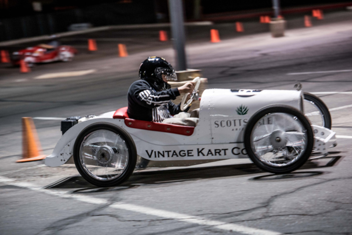 NextGen AutoFest put the youngsters behind the wheel of vintage inspired mini racers.