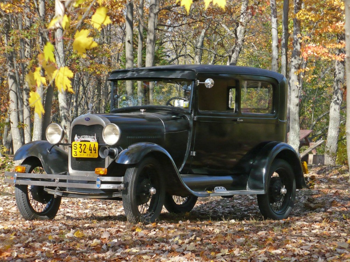 Jim DeGolyer bought this 1929 Ford Model A Tudor in 1967 for just $25. For many years prior, it shared a roof with a 1934 Ford Cabriolet with which it will be reunited at the Invitational at Saratoga.