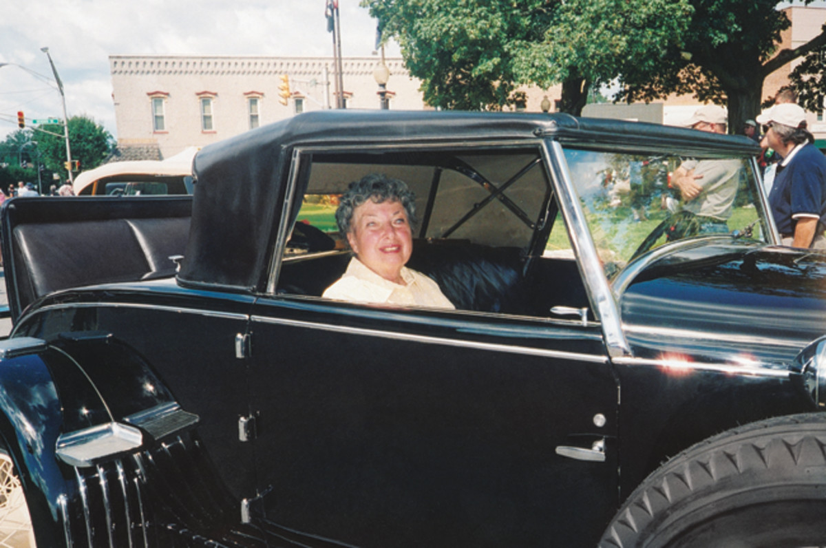 Old Cars Weekly readers Katherine Hedburn and her husband Paul have been fine stewards of this Murphy convertible coupe since 1961, and have chosen to cherish the car's originality. This car has only been owned by women (four, to be exact), and is titled to Katherine.