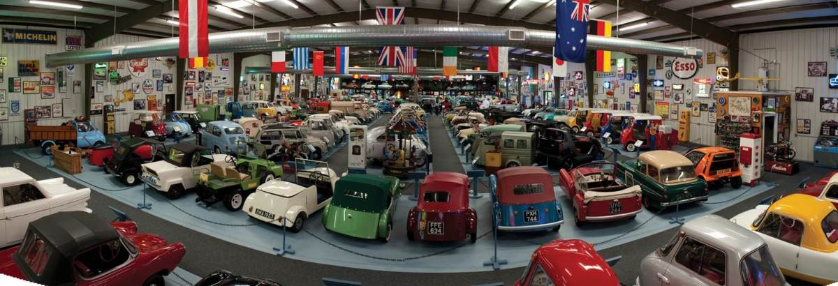 The Bruce Weiner Microcar Museum (courtesy Bruce Weiner / RM Auctions)