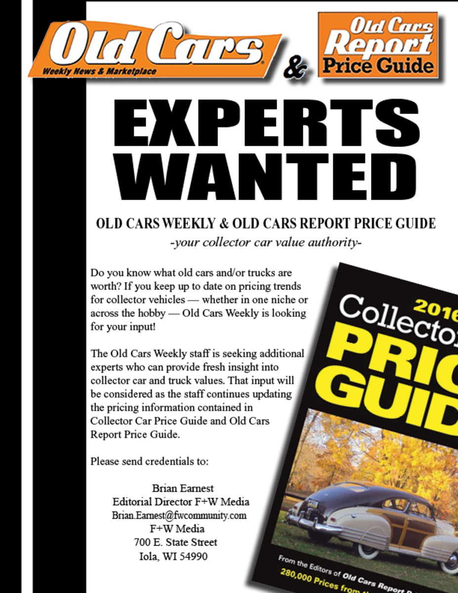 Price Guide Help Wanted