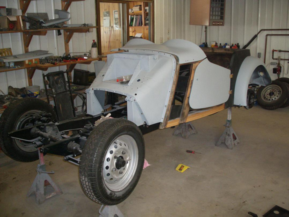 Will the MG TD ever be finished?