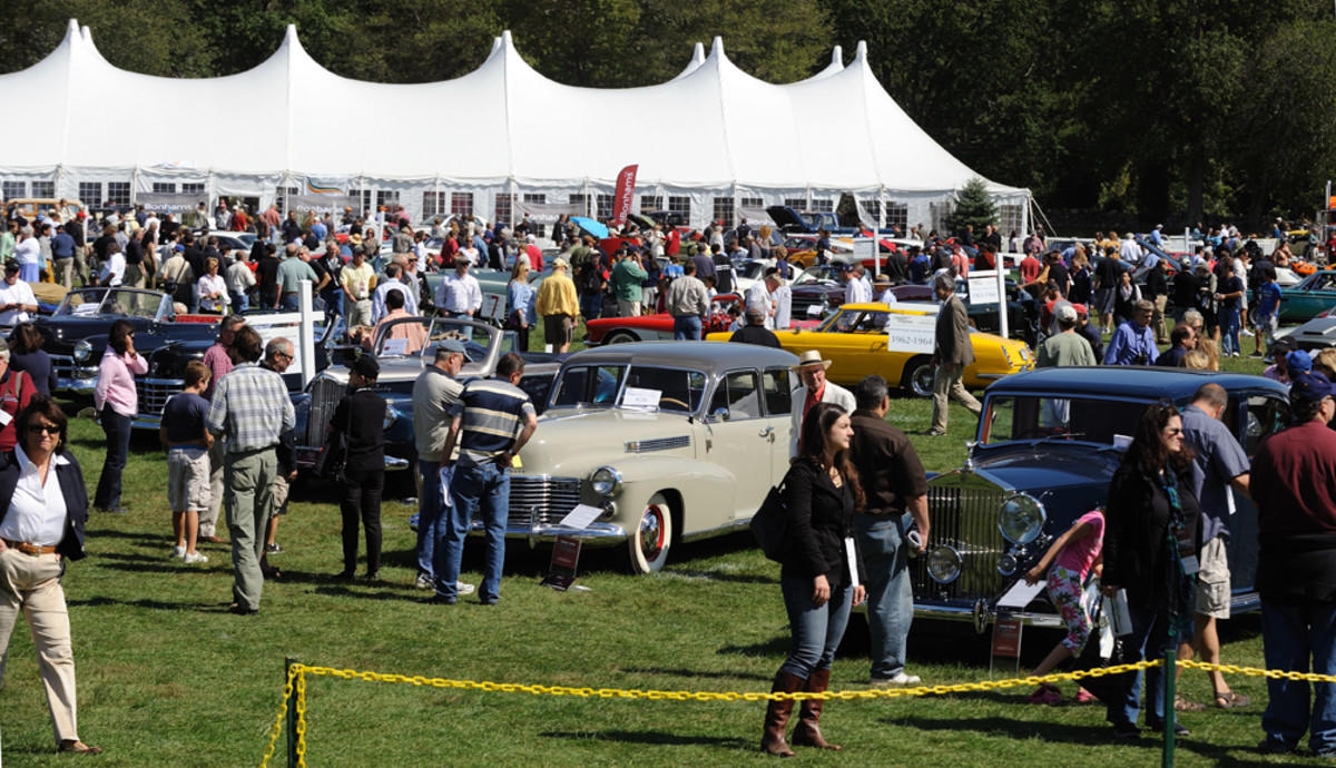 More than 8,000 guests enjoy a beautiful late Summer day and more than 215 classic vehicles (Photo by Chris Monroe)